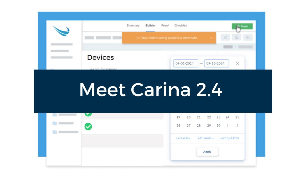 Solving Big Problems Facing Schools with Carina 2.4