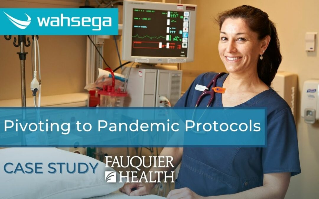 Fauquier Healthcare pivoting pandemic protocol