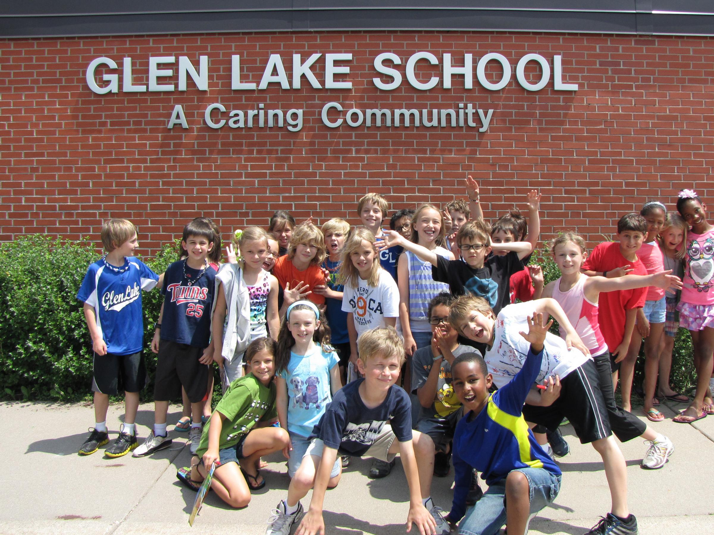 Glen Lake school kids