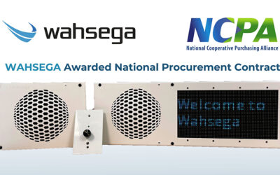 Wahsega Awarded National Procurement Contract through NCPA