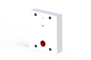 Panic button with two way speaker call button