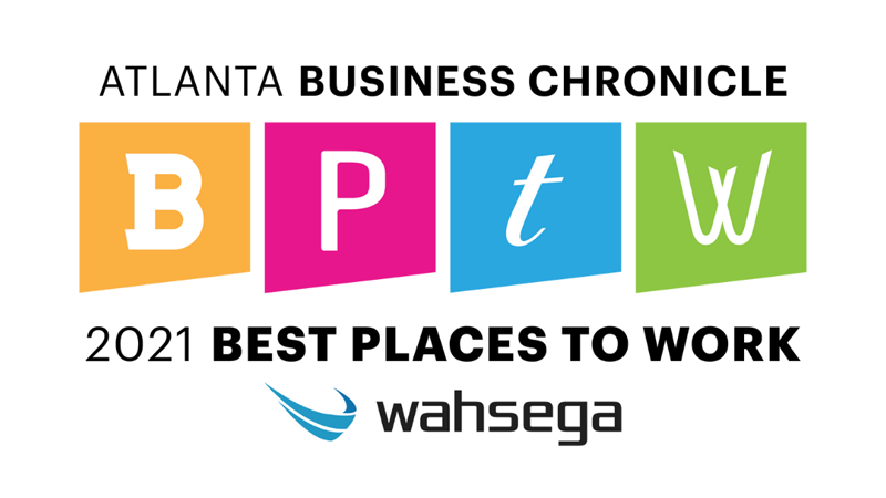 Wahsega Recognized by Atlanta Business Chronicle for Best Places to Work 2021